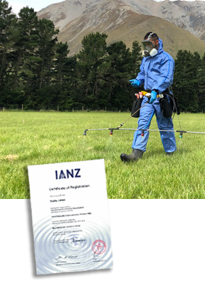 Staphyt Ltd re-accredited with IANZ